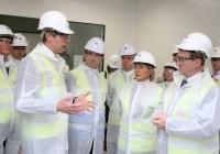 Ierse Minister President bezoekt Janssen Biologics
