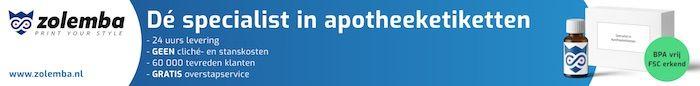 Zolemba De specialist in apotheeketiketten