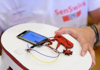 Tijdens de internationale studentencompetitie SensUs presenteren 14 teams vanuit de hele wereld nieuwe ideeën voor sensoren voor het meten van adalimumab in het bloed.