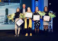 Vier winnaars KNMP Studentenprijs