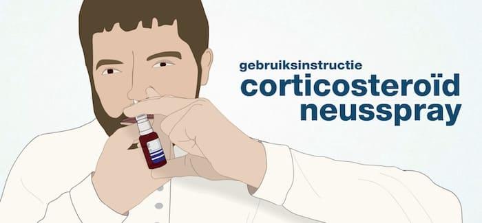 Gebruiksinstructie Corticosteroïd Neusspray
