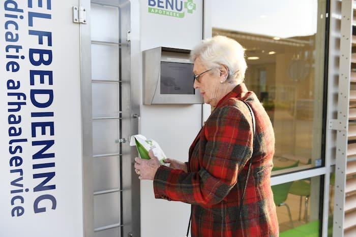 BENU Geneesmiddelen Afhaalautomaat