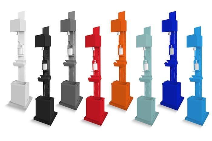 desinfectoren kleurvarianten