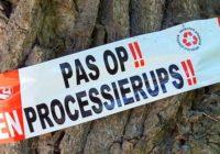 processierups-waarschuwingstape