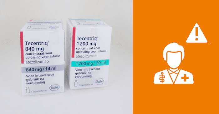 Let op ernstige huidreacties bij kankermedicijn Tecentriq