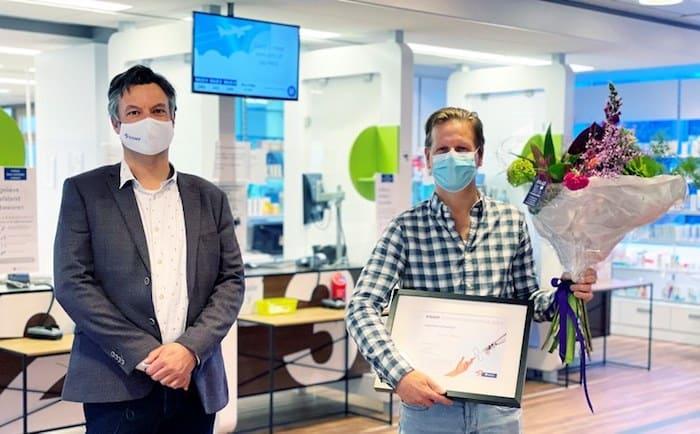 Harm Geers wint KNMP Zorginnovatieprijs 2021 met Apothekers Podcast
